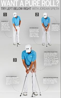 Jordan Spieth putting tips