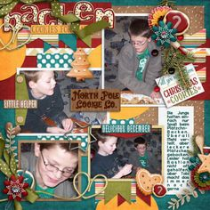 North Pole Cookie Co. by Bella Gypsy Designs http://scraporchard.com/market/North-Pole-Cookie-Co.-Digital-Scrapbook-Mini-Kit.html My life in photobook 7. by Tinci Designs http://scraporchard.com/market/My-life-in-photobook-7..html