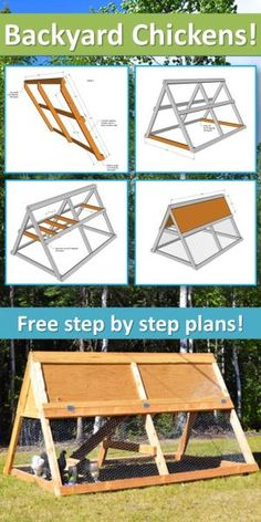 Ana White | Build a A Frame Chicken Coop | Free and Easy DIY Project and Furniture Plans by delia