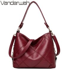 VANDERWAH Lady Top-handle bags handbags women famous brands female Embroidery casual Big shoulder bag Tote for girls SAC A MAIN #Affiliate