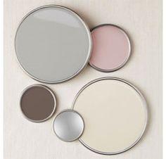 paint pallette for pastel design