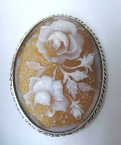 Italian cameo jewelry.