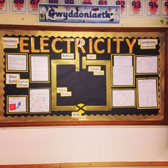 My electricity display board Year 4/5 class