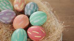 Easy Taped Easter Eggs