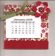 2009 Coaster Calendar