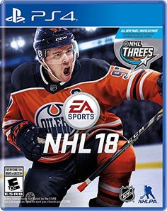 NHL 18 is an ice hockey simulation video game developed by EA Canada and published by EA Sports. It was released on Playstation 4 and Xbox One on September Video Games Xbox, New Video Games, Video Games Funny, Xbox One Games, Funny Games, Ps4 Video, Playstation Games, Nhl Games, Sports Games