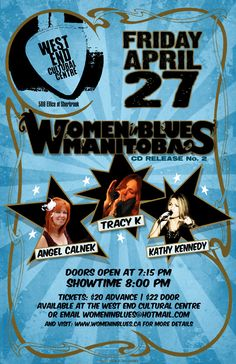 Alternate poster design for the Women In Blues CD Release gig. Cultural Center, My Works, Over The Years, Blues, Artwork, Poster, Design, Women, Work Of Art