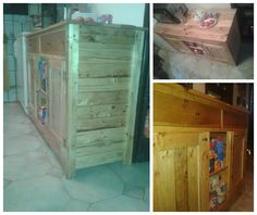 #PalletCabinet, #RecycledPallet