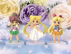 Sailor Moon Crystal Atsumete Figures for Girls Set 2! Links and images here http://www.moonkitty.net/buy-sailor-moon-atsumete-figures-for-girls.php