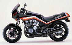 HONDA CBX 750 FE, coloris NH1Z,1985