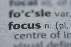 focus. You cannot depend on your eyes when your imagination is out of focus. - Mark Twain
