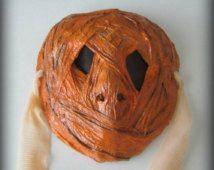 Pumpkinhead - Creepy paper mache mask