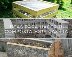 Te compartimos algunas ideas prácticas para hacer compostadoras caseras, ideal para hacer un excelente abono orgánico para tus cultivos.