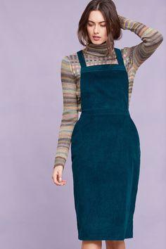 Dana corduroy pinafore dress