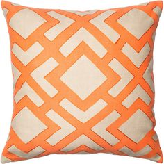 A fun pillow to add spice, color and a unique spin to any room. This is where comfort meets fashion. Features:Material: 100% ...