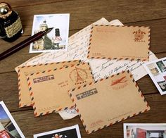 Carte de remerciement de mariage Thème voyage - Carte postale ancienne
