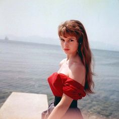 Brigitte at Cannes, 1953