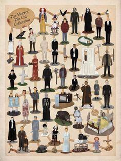 Não gosto de filmes de terror...mas ja vi todos estes !