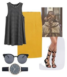 """""""Untitled #207"""" by smefford on Polyvore featuring WithChic, Charlotte Russe and Quay"""