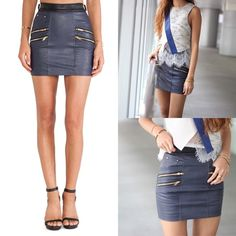 Authentic Self-portrait signature biker skirt Brand new sold out everywhere,marked as UK8/US4,⚠️but runs very small,fits size 0⚠️,❌NO TRADE‼️ Self-portrait Skirts Mini