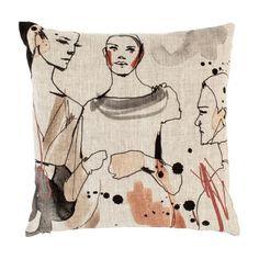 chic pillow by scandinavian design center