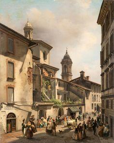 Luigi Premazzi - Contrada del Broglio (1839)