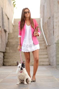meh to the french bulldog (i prefer a norwich terrier ;) ), but LOVE the outfit