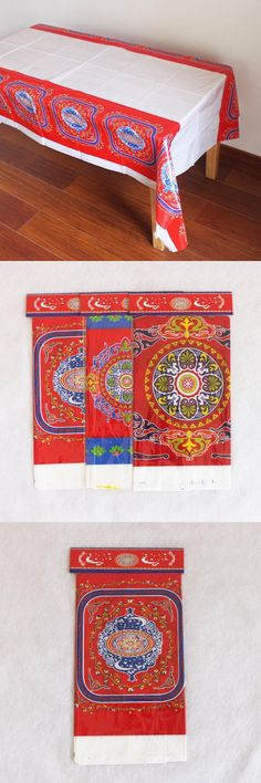 [Visit to Buy] Disposable Plastic Table Cloth Eid al-Fitr Ramadan Table Covers Tablecloth Waterproof For Moslem IslamismDecoration 180*108cm #Advertisement