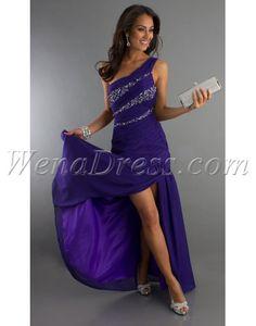 Blue prom dress