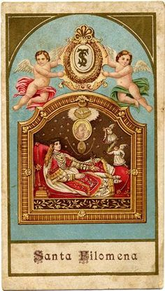 ©Universal Living Rosary Association of Saint Philomena Holy Card