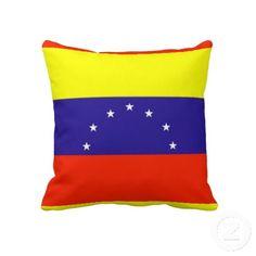 Venezuela Flag Cushion Pillow