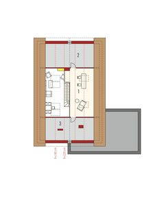DOM.PL™ - Projekt domu AC Daniel IV G2 CE - DOM AF9-57 - gotowy koszt budowy Village House Design, Village Houses, House Construction Plan, House Plans, Floor Plans, How To Plan, Home, Ideas, Cottage Style Homes