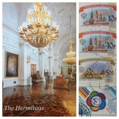 Postcard received from Moscow, Russia