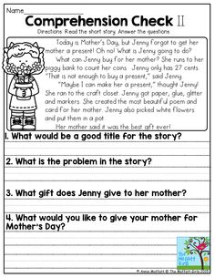 Nothing warms a mother's heart more than to see her children learning!  With plenty of hands-on activities to keep children engaged, the NO PREP Packets for May are sure to deliver for Mother's Day!