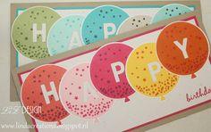 LiZ Design: Happy Birthday with Balloons!
