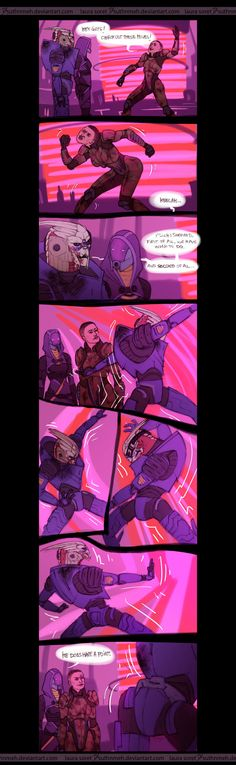 Mass Effect - Dance by suthnmeh.deviantart.com on @deviantART Garrus is a better dancer