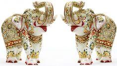 elephant diya decoration - Google Search