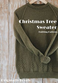 Christmas Tree Sweater Knitting Pattern Source by originallylovely Animal Knitting Patterns, Sweater Knitting Patterns, Knit Patterns, Knitting Sweaters, Christmas Knitting Patterns, Knitting Blogs, Knitting For Beginners, Hand Knitting, Christmas Tree Sweater