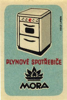 Matchbox label, Czechoslovakia