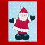 Dancing Santa Card #Holiday #Party #Ideas #DIY #Printable #cards