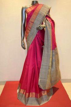 Designer kancheepuram silk