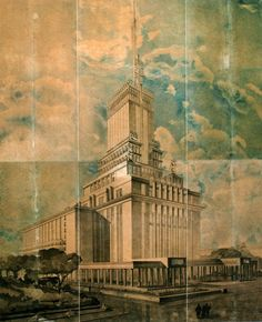 1934. Душкин. Проект Дома Радио.