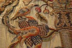 crewel work 17th century - Google Search