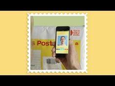 How to use a Video Stamp http://auspost.com.au/ 1) 黏貼郵票&投入信箱  2) 下載APP&錄製15秒影音  3) 掃瞄條碼觀看影音