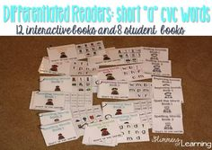 Best interactive and hands on activities to help youngsters with pre-reading skills, as well as hand writing! Each set comes with 12 interactive books: you can also purchase a bundle as well! Preschool Literacy, Literacy Skills, Early Literacy, Kindergarten, Literacy Centers, Autism Classroom, New Classroom, Classroom Resources, Classroom Ideas