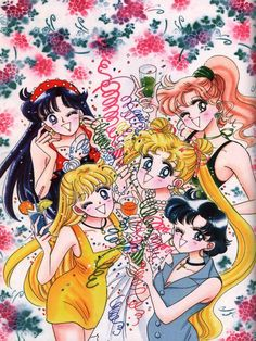sailor moon party party!