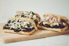 vegan pulled bbq mushroom sandwiches | RECIPE on hotforfoodblog.com