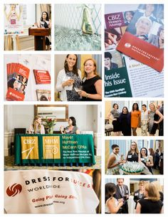 Check out these pics from CBIZ Women's Advantage event for Dress for Success!!! ‪#‎teamcbiz‬ ‪#‎givesback‬ ‪