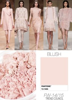 Must Have Fashion Colors in Women's Wear for Autumn/Winter 2014/2015 by Trend…