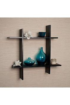 Asymmetric Square Floating Wall Shelf by DanyaB on @HauteLook